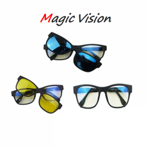 3 in 1 Magic Vision Stylish Sunglass