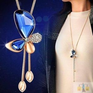 Butterfly Long Locket (QTH)1