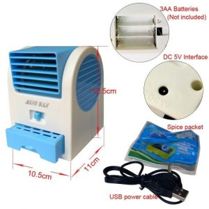 USB Mini Air Conditioner Fan